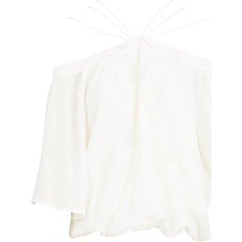 tekstylia Damskie Topy / Bluzki See U Soon 20111182 Biały