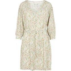 tekstylia Damskie Sukienki krótkie See U Soon 20121192 Beżowy
