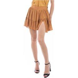tekstylia Damskie Spódnice See U Soon 20131124 Żółty