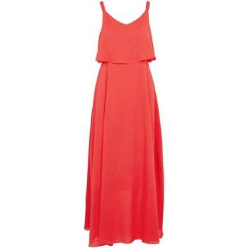 tekstylia Damskie Sukienki długie Molly Bracken T1202P20 Pomarańczowy