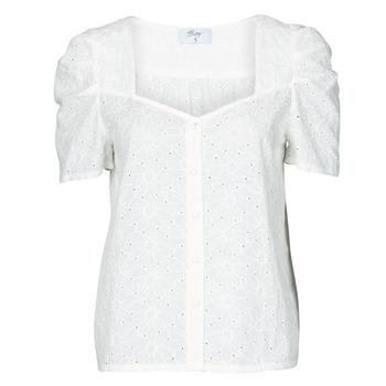 tekstylia Damskie Topy / Bluzki Betty London OOPSO Biały