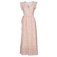 tekstylia Damskie Sukienki długie Betty London OULANE Różowy