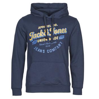 tekstylia Męskie Bluzy Jack & Jones JJEJEANS Marine