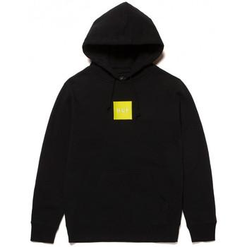 tekstylia Męskie Bluzy Huf Sweat hood box logo Czarny