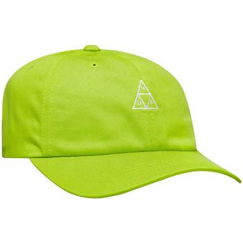 Dodatki Męskie Czapki z daszkiem Huf Cap essentials tt logo cv 6 panel bio Zielony