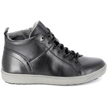 Buty Męskie Trampki wysokie Jana Sneaker 25202 Noir Czarny