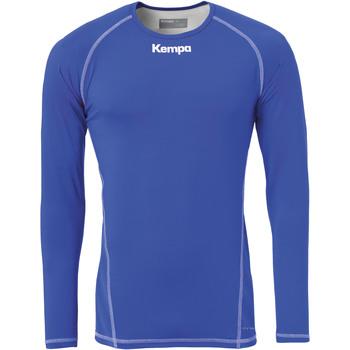 tekstylia Męskie T-shirty z długim rękawem Kempa Maillot de compression ML  Attitude bleu roi