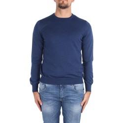 tekstylia Męskie Swetry La Fileria 14290 55167 Niebieski