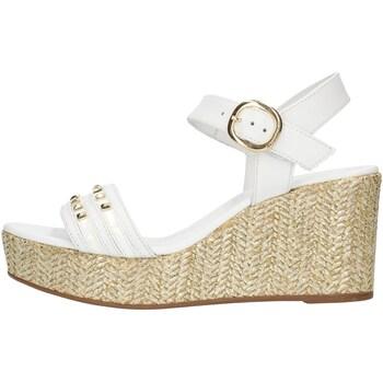 Buty Damskie Sandały Nero Giardini E012400D Biały