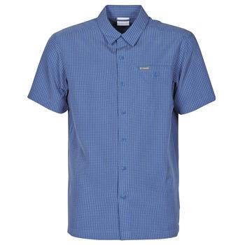 tekstylia Męskie Koszule z krótkim rękawem Columbia LAKESIDE TRAIL Niebieski
