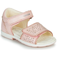 Buty Dziewczynka Sandały Geox B VERRED Różowy