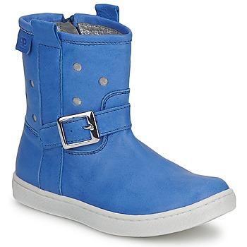 Buty Dziewczynka Buty za kostkę Pinocchio RABIDA Niebieski