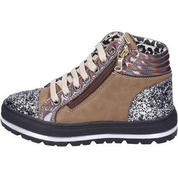 Buty Dziewczynka Trampki Didiblu sneakers pelle sintetica glitter Marrone