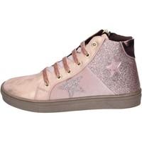 Buty Dziewczynka Trampki Asso sneakers pelle sintetica glitter Rosa