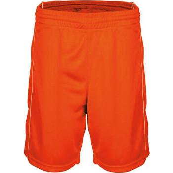 tekstylia Męskie Szorty i Bermudy Proact Short  Basket-Ball orange