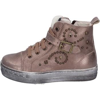 Buty Dziewczynka Trampki niskie Eb Sneakersy BK247 Brązowy