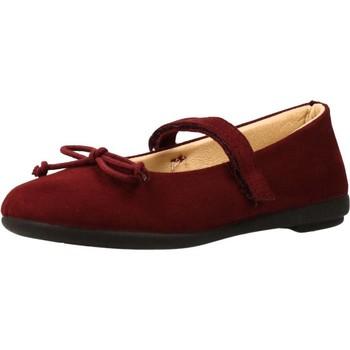 Buty Dziewczynka Derby & Richelieu Vulladi PARISINA Czerwony