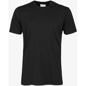 tekstylia Męskie T-shirty z krótkim rękawem Colorful Standard CLASSIC ORGANIC TEE deep-black-nero