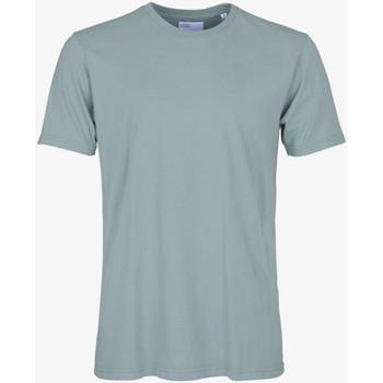 tekstylia Męskie T-shirty z krótkim rękawem Colorful Standard CLASSIC ORGANIC TEE steel-blue