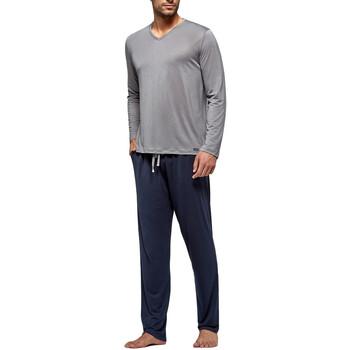 tekstylia Męskie Piżama / koszula nocna Impetus Travel 4593F84 G20 Szary