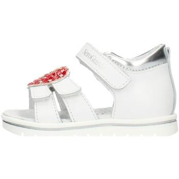 Buty Dziewczynka Sandały Nero Giardini E021471F Biały