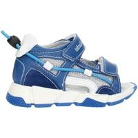 Buty Dziewczynka Sandały Nero Giardini E023881M Niebieski