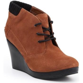 Buty Damskie Low boots Lacoste Buty lifestylowe  Leren 7-26SRW4204013 brązowy