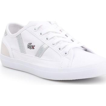 Buty Damskie Trampki niskie Lacoste Trampki  Sideline 7-37CFA004321G biały
