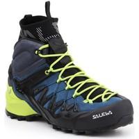 Buty Męskie Trekking Salewa Buty trekkingowe  MS Wildfire Edge MID GTX 61350-8971 zielony, granatowy