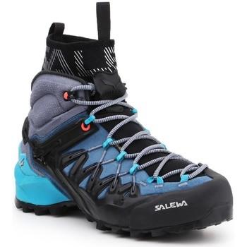 Buty Damskie Trekking Salewa Buty trekkingowe  WS Wildfire Edge MID GTX 61351-8975 granatowy, szary, czarny