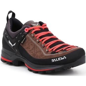 Buty Damskie Trekking Salewa Buty trekkingowe  WS MTN Trainer 2 GTX 61358-0480 brązowy, czarny