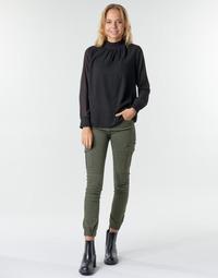 tekstylia Damskie Spodnie bojówki Only ONLMISSOURI Kaki