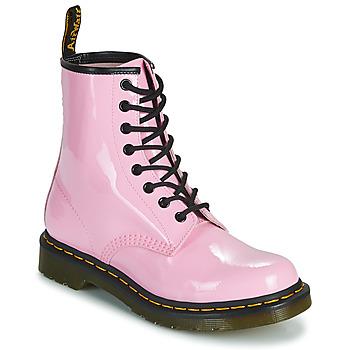 Buty Damskie Buty za kostkę Dr Martens 1460 W Różowy