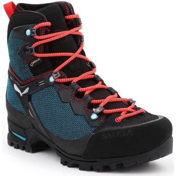 Buty Damskie Trekking Salewa Buty trekkingowe  WS Raven 3 GTX 61344-8736 zielony, czarny, czerwony