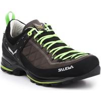 Buty Męskie Trekking Salewa Buty trekkingowe  MS MTN Trainer 2 L 61357-0471 brązowy, czarny, zielony