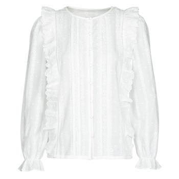 tekstylia Damskie Topy / Bluzki Betty London NIAMAIM Biały