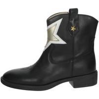 Buty Dziewczynka Buty za kostkę Florens F8503 'Czarny/złoty