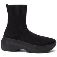 Buty Damskie Buty za kostkę Vagabond Shoemakers Czarne botki Sprint 2.0 Black