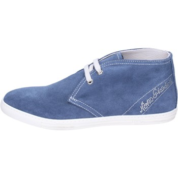 Buty Dziewczynka Botki NeroGiardini BK487 Niebieski