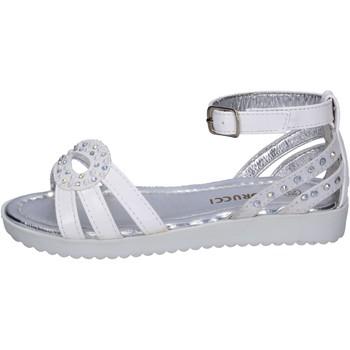 Buty Dziewczynka Sandały Fiorucci Sandały BK504 Biały