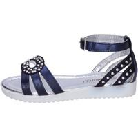Buty Dziewczynka Sandały Fiorucci Sandały BK505 Niebieski