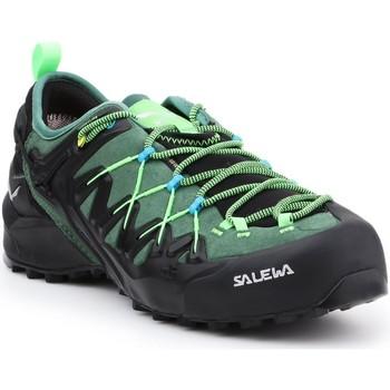 Buty Męskie Trekking Salewa Buty trekkingowe  MS Wildfire Edge GTX 61375-5949 czarny, zielony