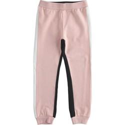 tekstylia Dziewczynka Spodnie dresowe Ido 41377 Różowy