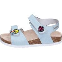Buty Dziewczynka Sandały Smiley Sandały BK510 Niebieski