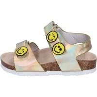 Buty Dziewczynka Sandały Smiley Sandały BK511 Złoto