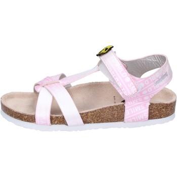 Buty Dziewczynka Sandały Smiley Sandały BK512 Różowy
