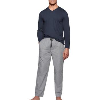 tekstylia Męskie Piżama / koszula nocna Impetus 1523310 E97 Niebieski
