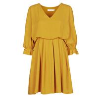 tekstylia Damskie Sukienki krótkie Naf Naf  Żółty