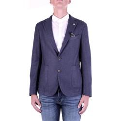tekstylia Męskie Kurtki / Blezery Manuel Ritz 2932G2728TW-203507 Niebieski