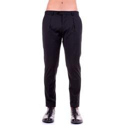 tekstylia Męskie Spodnie z pięcioma kieszeniami Manuel Ritz 2930PR1818-203535 Czarny